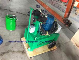 post tension jack and pump